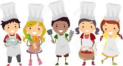 Image result for kids cooking clipart